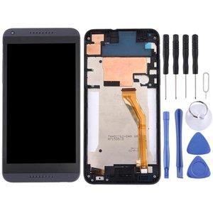 LCD-Display + Touch Panel mit Rahmen für HTC Desire 816