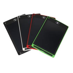 2019 nouveau 8,5 pouces LCD tablette écritoire Handwriting Pad Dessin numérique carte graphique sans papier Bloc-notes de soutien écran Fonction Effacer