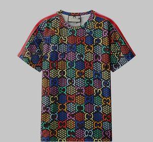 2020 men's designer T-shirt fashion short sleeve high quality cotton women's T-shirt trend hip hop top s-2xl