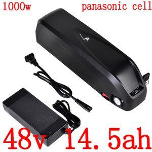 48v 15AH батарея лития 48v 14.5ah литий-ионная аккумуляторная батарея использование электрического велосипеда ячейка для Panasonic 48v 500w 750w 1000w Ebike двигателя