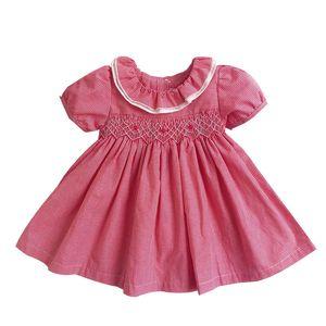 2020 Summer Baby Girls Spanish Dress Newborn Baby Toddler Clothes Infant Party Wedding Flower Dresses for Girl Vestido Infantil T200706