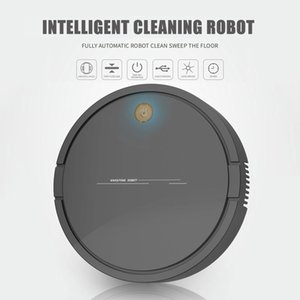3.7V 1200mAh 3W de carga USB inteligente Lazy robot para el hogar aspiradora robot de limpieza Barrido Home Office Sweep Tools