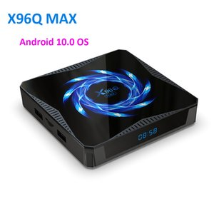 Android Tv Box X96 X96q Max Tv Box Android 10 4gb 32 64gb Allwinner H616 2.4g 5.0g Wifi Bt5.0 4k