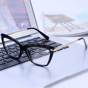 Moda Cat Eye Optical design Anti Blue Light Blocking vetri trasparenti bicchieri per degli occhiali del calcolatore delle donne