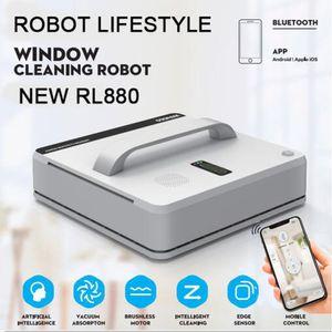 RL880 Автоматический робот для очистки окон, интеллектуальная шайба, пульт дистанционного управления, анти падение алгоритма алгоритма стекла пылесос инструмент