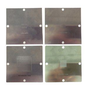 90x90mm BGA stencils Reballing soldar molde de aço bola para PS4 BGA IC reball kit BGA Reballing