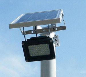 Açık Su Geçirmez Güneş Işıklandırmalı 54 LED Spot Odaklanmış Güneş LED Bayrak Işık Donanım ile Bayrak Direkleri için Wal Driveway LLFA Için