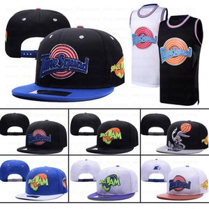 spacejam snapbacks Şapka Büyük smaç Erkekler Kadınlar Nakış Ayarlama Squad Taz 1/3 sırtları beyzbol şapkaları satışı ek bileşeni