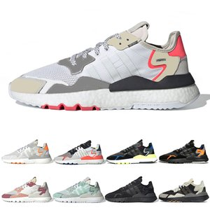 adidas nite jogger 2019 Luxe nite jogger réfléchissant mens running chaussures Triple noir blanc TRACE ROSE ICE MENTHE Confortable 3M mens sport baskets taille 36-45