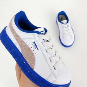 PUM Детская обувь Дизайнерская обувь Big Boys Girls Детские спортивные кроссовки Детские спортивные кроссовки 2019 Осень Новые корзины кроссовки для младенцев Snea