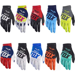2019 luvas de bicicleta hpit Luvas FOX ATV MTB BMX Off Road Motorcycle Luvas Mountain Bike Bicycle Motocross bicicleta de corrida