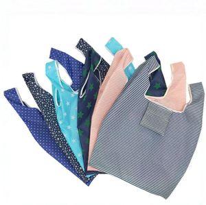 Promotion personnalisable Creative Pliable Sacs à provisions 6 couleurs d'épicerie réutilisables sac de rangement Eco Friendly Sacs fourre-tout commercial DHL