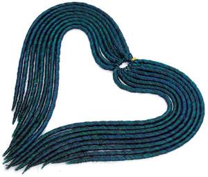 Faux rizado Locs ganchillo del pelo de la onda profunda diosa Locs ganchillo Gira Trenzas extensiones de pelo sintético del trenzado trenzas de pelo