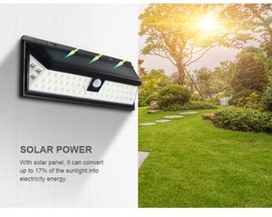 54 LED Wireless Waterproof Security Solar Light for Front Door, Yard, Garage, Deck, Porch, Shed, Walkway, Fence