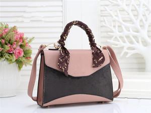 Moda mulheres famosas bolsa bolsa messenger bag ombro crossbody saco crossbody cadeia menina lenço bolsa