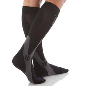 ROPALIA Men Women Leg Support Stretch Compression Socks Below Knee Socks1