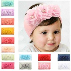2019 nouvelles perles fille joli bébé nouveau-né serre-tête de fleur de la mode arc bébé accessoires pour cheveux 0-2Y