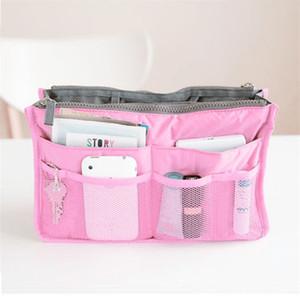 المرأة حقيبة مستحضرات التجميل السفر إدراج منظم أدوات الزينة وتشكل كل حالة السيدات غسل التخزين الحقيبة حقيبة الجمال المحمولة أنثى حمل