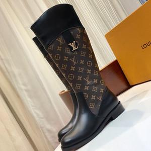 Damenschuhe Schuhe Damen Luxuxdamen Reißverschluss Frauen Art und Weise der Arbeit Stiefel heißt high-top Schuhe Frauen warmer Verkauf