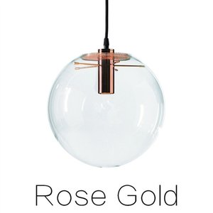 Lights Pendant Globe Home Suspension Hanglamp Lustre E27 Kitchen Ball Fixture Rope Hanging Chrome Glass Eoutp