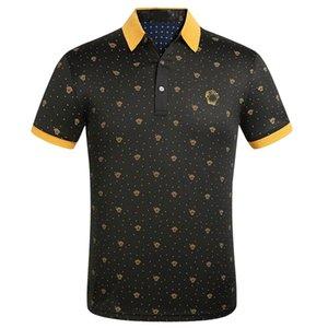 Mens Stylist Polo Shirts Mens 2020 Stylist Clothes Short Sleeve Fashion Mens Summer T Shirt Size M-XXXL white