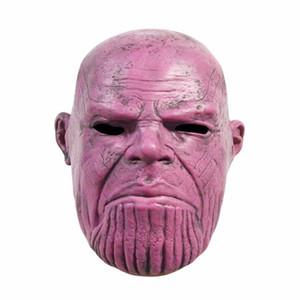 Novos Vingadores 4 Thanos Mask Holiday Máscaras Máscaras Máscaras Máscaras Máscaras Máscaras Máscaras Máscaras de Halloween Cosplay