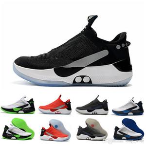 2019 Новый Адаптированный BB Black White Pure Platinum Air Mag Баскетбольные кроссовки мужские Мужские Назад к будущим Спортивные кроссовки Кроссовки Chaussures 7-12