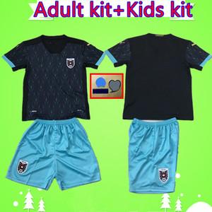adultes kit + kids kit 2020 2021 garçons en jersey de football Autriche 20 21 Alaba mis Arnautovic Sabitzer Grillitsch Maillot de football Uniformes costume mans