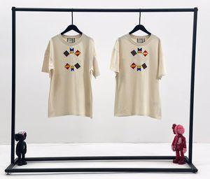 Womends-T-Shirt der beiläufige 2020 Sommer-Kurzschluss-Hülsen-T-Shirt Mode Luxus Frauen Qualitäts-nettes Splice-T-Shirt Cloth