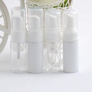 30ml Plastic Soap Dispenser Bottle Clear White Foam Pump Bottle Soap Mousses Liquid Dispenser Foaming Bottle