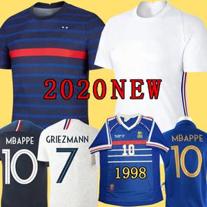France soccer jersey football shirt 2019 Frankreich Trikot 100. Geburtstag 100 Jahre 2 Sterne New Soccer Jersey Fußball-Trikot der Fußball Weltmeisterschaft 2018 Griezmann MBAPPE