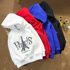 maglione dei nuovi bambini Felpe Felpe con cappuccio cappuccio di stampa di modo nuovo casuale del cotone del bambino con cappuccio Hoody