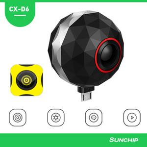 Panorâmica de 360 graus da câmera para o telefone móvel Esporte Camera