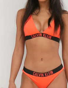 Mulheres clássico Bikini Set acolchoado Thong Bikinis mulheres Swimwear Swimsuit Sólidos Suit alta Corte de banho Biquni brasileira