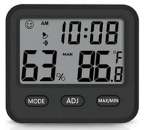 2019 new electronic digital display temperature and hygrometer high precision household small time temperature and humidity meter