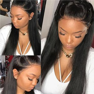 Brazilian 360 Lace Frontal Human Hair Wigs For Women Remy Straight Human Hair Wigs With Baby Hair Natural Hairline Beaudiva