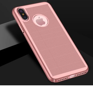Full Cover Matte Slim Hard PC Mesh Breathing Case Cover for iPhone 11 PRO 11 PRO MAX X XS XR XS MAX Galaxy NOTE 10 + 300pcs lot