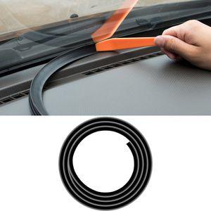 Car Accessories Dashboard Panel Gap Sealing Strip Rubber Strips Trim Interior Decoration for BMW X3 G01 X4 G02 2018 2019 2020
