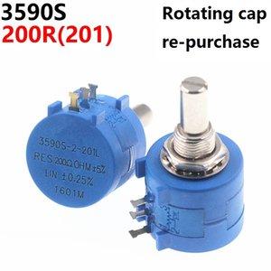 3590S 200R 201 Precision Multiturn Potentiometer Adjustable Resistor