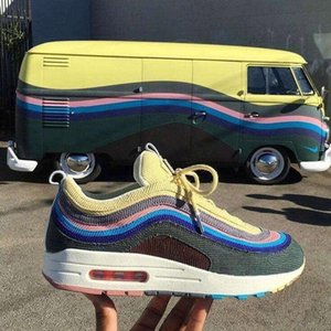 2020air max 97 sean wotherspoonmaxesairmax 97s designervapor max fashion sneakers trainers triple s mens running shoe