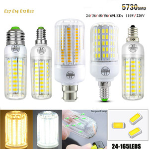 E27 5W 6W 7W 8W 10W LED Corn Bulb 5730 SMD Light Corn Lamp Incandescent 220V LED Bulbs Tubes