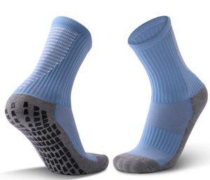 2020 men Middle tube thickened towel bottom adult antiskid wear resistant football socks comfortable breathable sports socks fitness yakuda