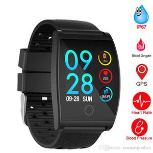 Acessórios inteligentes Pulseiras QS05 Smart Color Calorie Calorie Exercício Heart Rate Pedômetro Smart Watch Wearable Devices