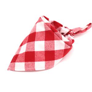Baby Plaid Bibs Kids Bandana Scarf Bibs Cotton Baby Feeding Triangle Towel Plaid Head Scarf Infant Bib Burp Cloths GGA2454