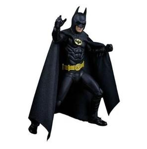 1989 باتمان مايكل كيتون 25th ذكرى pvc عمل الشكل النادرة نموذج لعبة 18 سنتيمتر خارقة باتمان عمل الشكل
