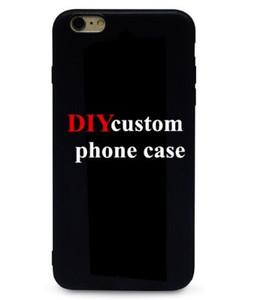 Custom Design DIY logo / foto Caja dura del teléfono para el iphone 11promax 6S 7 Plus personalizada Cubierta posterior impresa