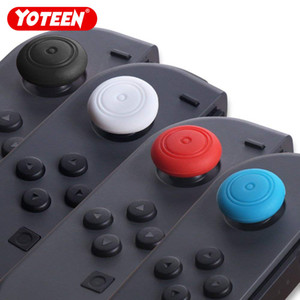 Yoteen 4Pcs antideslizante para Nintendo Switch Thumb Sticks Grips Cover Case Joystick Caps