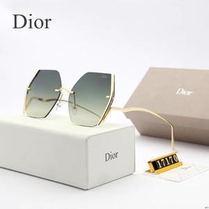 Occhiali da sole per occhiali da sole delle donne di modo delle donne di lusso Sun occhiali alla moda donna Sunglases signore oversize Occhiali da Sole 6K6D18