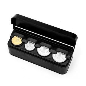 nterior Accessories Stowing Tidying Automatic Euro Coin Organizer Storage Modern Style Contains Coins Purse Square Plastic Auto Coin Box...