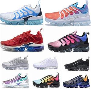 2019 tn più scarpa da tennis scarpe Bumblebee Be Ture Hyper Blu Viola Rosa salita Tropical Sunset Game reale mens sport delle donne delle scarpe da tennis dimensioni 36-47
